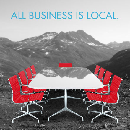 Handelsmarketing - All business is local.