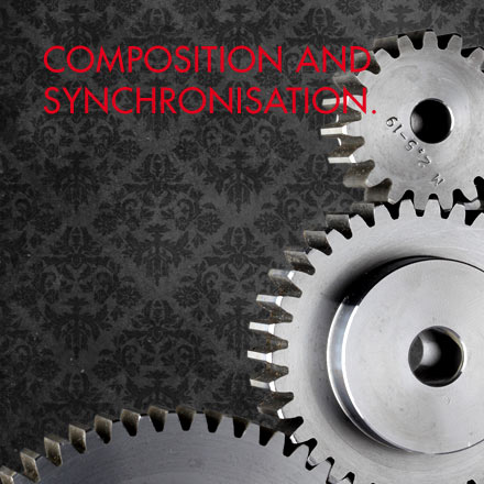 Agentur - Composition and synchonisation.